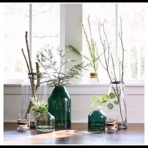 Hearth and Hand Large Magnolia Glass Jar Vase